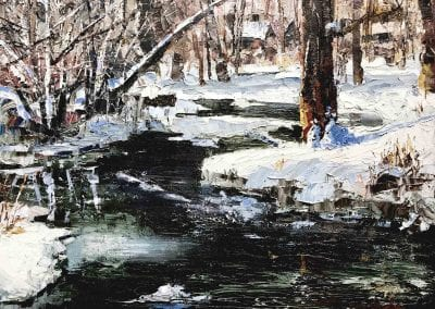 Winter's Song | Oil | 16 x 20 | Available