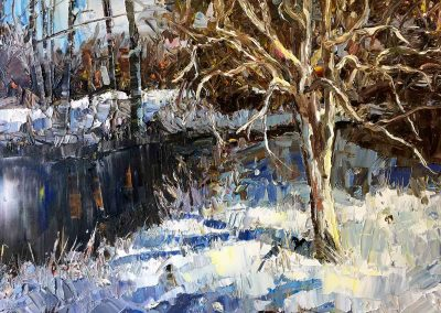 shelly wierzba fine art landscape painting Highly Favored Day